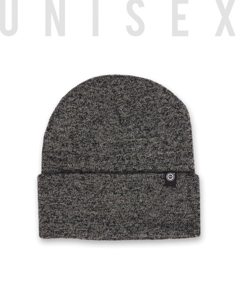Circle Beanie BLACK FIZZLE