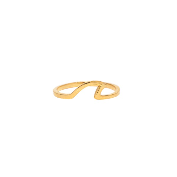 THE WAVE RING GOLD
