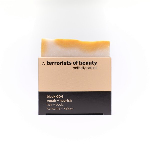 terrorists of beauty | blockseife 004 repair + nourish