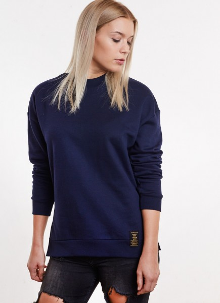 Cut Sweater BLUE
