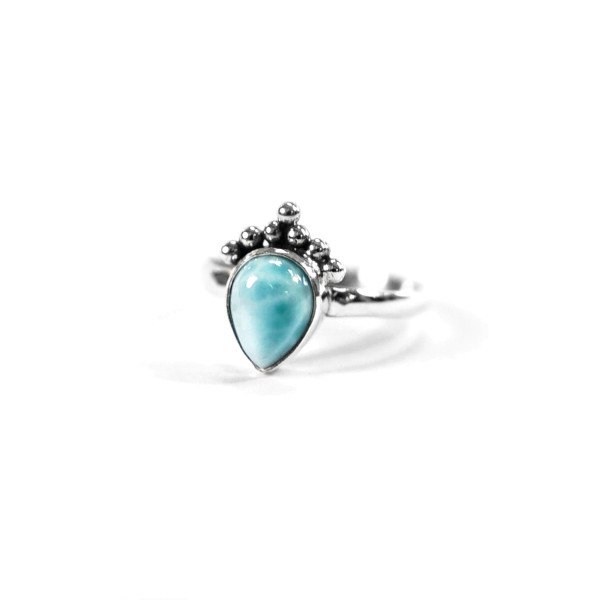 Little Larimar Ring - Travel Tales