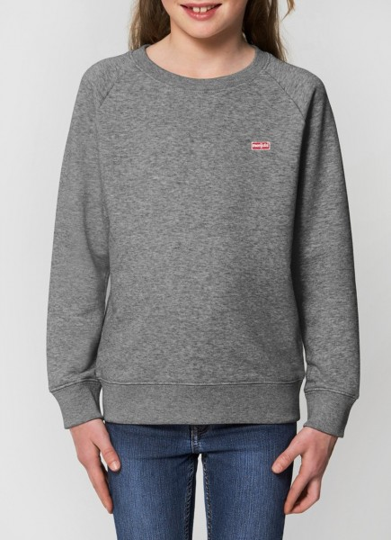 Kids Quebec Raglan Sweatshirt GREY
