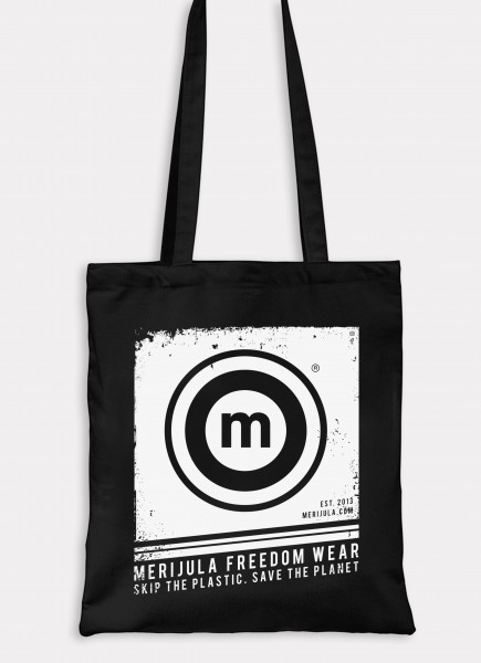 The merijula Jute Bag BLACK